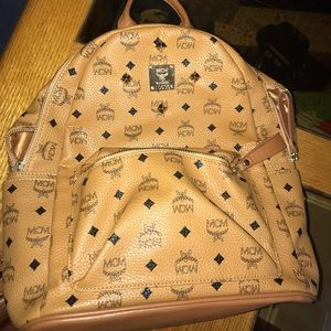 REAL Mcm backpack brand new used once real bag
